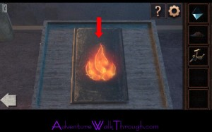 Can You Escape Tower Level 13 flame book