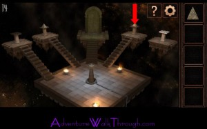 Can You Escape Tower Level 14 Go up third staircase