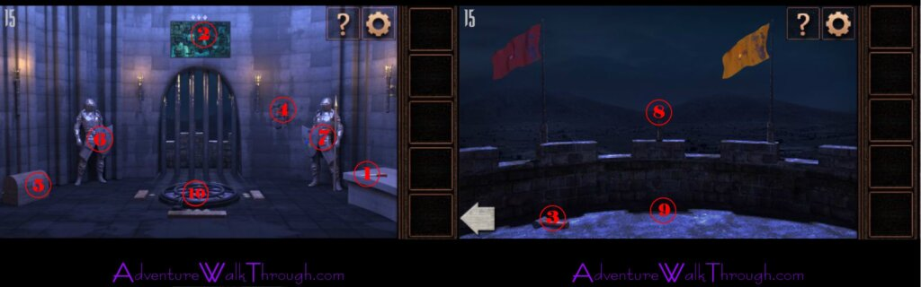 Can You Escape Tower Level 15 Walkthrough
