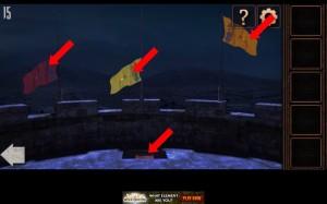 Can You Escape Tower Level 15 secret compartment