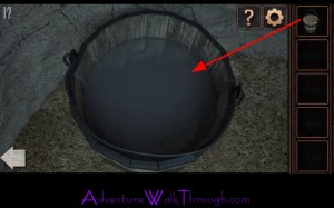Can You Escape Tower Level 17 bucket water