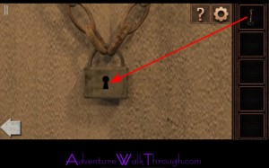 Can You Escape Tower Level11 door padlock