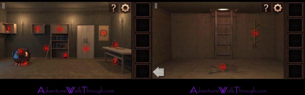 Can You Escape Tower Level11 walkthrough