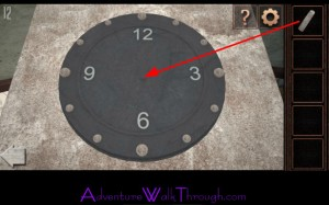 Can You Escape Tower Level12 place clock face