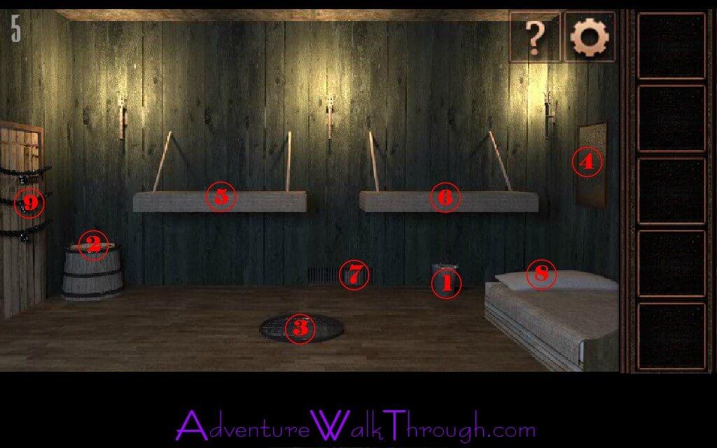 Can You Escape Tower Level5 Walkthrough