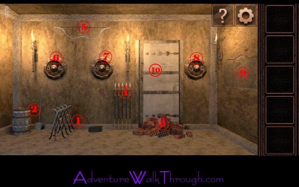 Can You Escape Tower Level6 walkthrough
