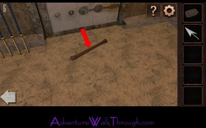 Can You Escape Tower Level6 wooden handle