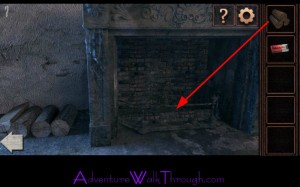 Can You Escape Tower Level7 fireplace wood