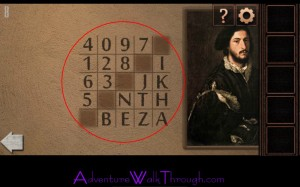 Can You Escape Tower Level8 Cipher Number and Letter