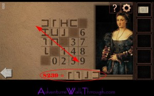 Can You Escape Tower Level8 Cipher Symbol and number