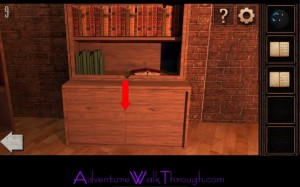 Can You Escape Tower Level9 cabinet door