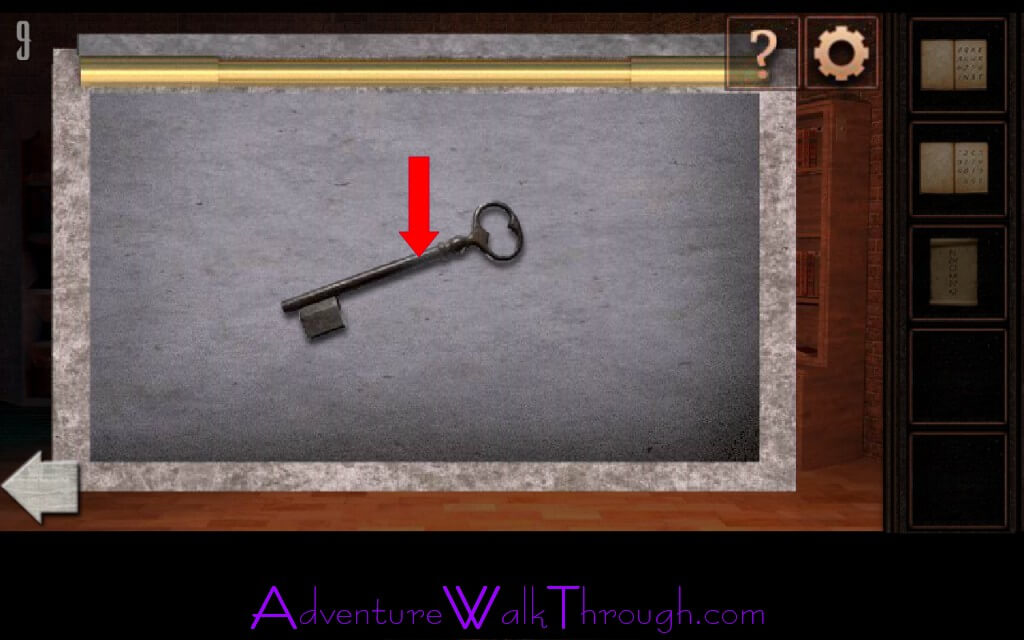 ... keyhole. Th... Empty Room Escape Game