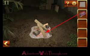 Can You Escape Adventure Level 11 fire wood