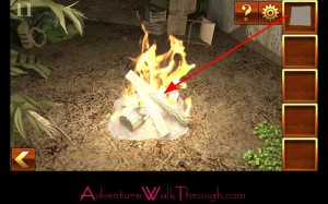Can You Escape Adventure Level 11 paper fire