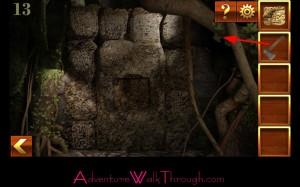 Can You Escape Adventure Level 13 stone wall