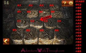 Can You Escape Adventure Level 14 steps puzzle
