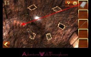 Can You Escape Adventure Level 15 ceiling