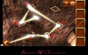 Can You Escape Adventure Level 15 light path