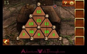 Can You Escape Adventure Level 15 pyramid puzzle