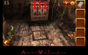 Can You Escape Adventure Level 15 trapdoor