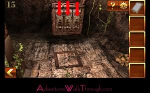 Can You Escape Adventure Level 15 trapdoor