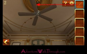 Can You Escape Adventure Level 2 ceiling fan