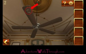 Can You Escape Adventure Level 2 number on fan
