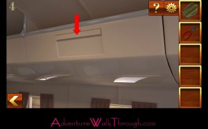 Can You Escape Adventure Level 4 overhead bin
