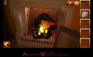 Can You Escape Adventure Level 5 fireplace