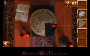 Can You Escape Adventure Level 5 insert puzzle