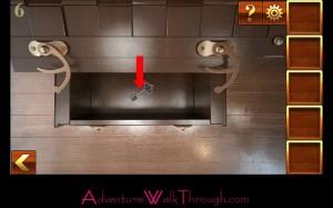 Can You Escape Adventure Level 6 door key