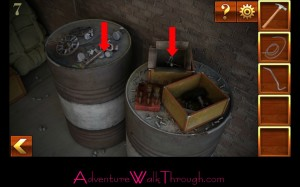 Can You Escape Adventure Level 7 barrels