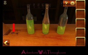 Can You Escape Adventure Level 8 bottles