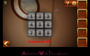 Can You Escape Adventure Level 9 enter password