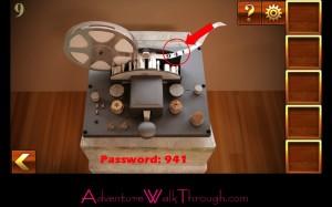 Can You Escape Adventure Level 9 get password