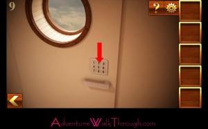 Can You Escape Adventure Level 9 locate keypad