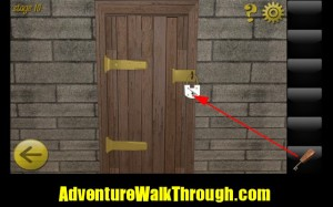 World Escape Level10 insert door key