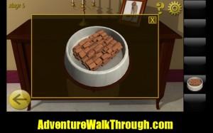 World Escape Level5 dog food in bowl