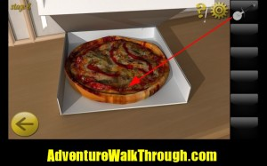 World Escape Level8 cut pizza