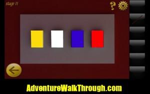 World Escape Level11 color combination
