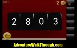 World Escape Level11 enter password