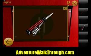 World Escape Level11 knife blade