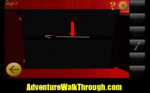 World Escape Level11 walking stick