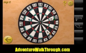World Escape Level12 dart board