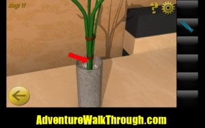 World Escape Level12 flower vase