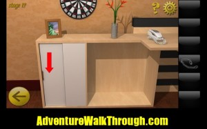 World Escape Level12 open cabinet