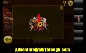World Escape Level14 get door key