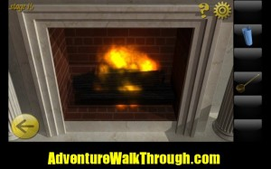 World Escape Level15 fireplace