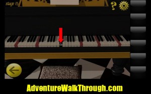 World Escape Level15 keyboard secret