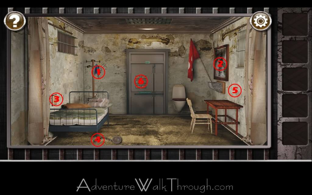 Escape The Prison Room Level 1